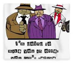 Mafia Fleece Blanket