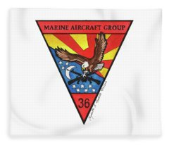 Mag-36 Patch Fleece Blanket