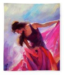 Magenta Fleece Blanket