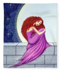 Maggie's Lullaby Fleece Blanket