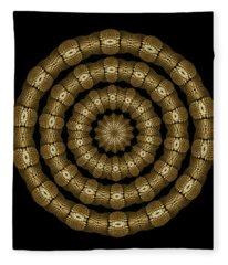 Magic Brass Rings Fleece Blanket