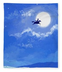 Magic Horse Fleece Blanket