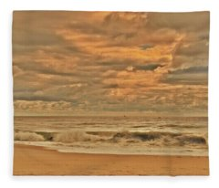 Magic In The Air - Jersey Shore Fleece Blanket