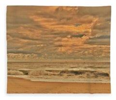 Magic In The Air - Jersey Shore Fleece Blanket