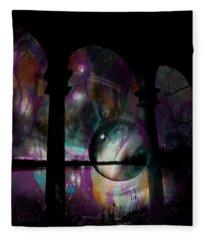 Magic In The Ruins Fleece Blanket