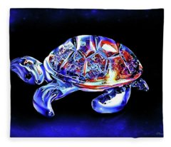 Magic Turtle Fleece Blanket