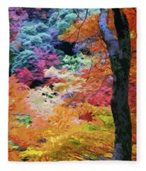 Magical Autumn Fleece Blanket