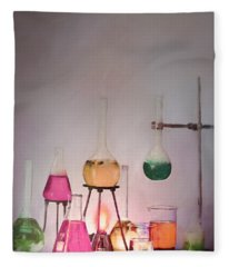 Magical Beakers Fleece Blanket