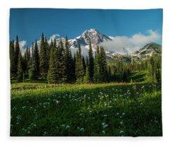 Magical Garden Fleece Blanket