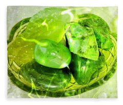 Magical Gemstones Fleece Blanket