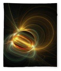 Magnetic Field Fleece Blanket