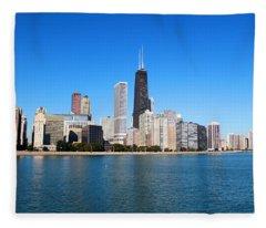 Magnificent Chicago Fleece Blanket