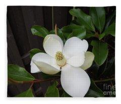 Magnolia 3 Fleece Blanket