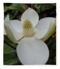 Magnolia Blossom 6 Fleece Blanket