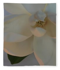 Moody Magnolia  Fleece Blanket