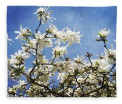 Magnolia Sky Fleece Blanket