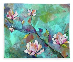 Magnolia Fleece Blankets