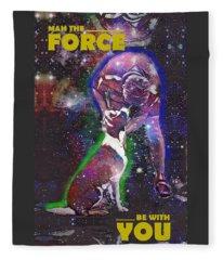 Mah The Force Fleece Blanket