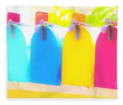 Mail For You Fleece Blanket