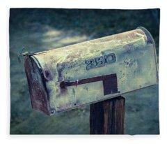 Mailbox 250 El Camino Drive Fleece Blanket
