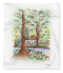 Main Street Charmer Fleece Blanket