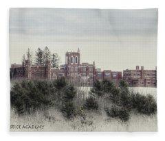 Maine Criminal Justice Academy Fleece Blanket