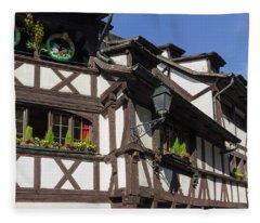 Maison Des Tanneurs Strasbourg France Fleece Blanket