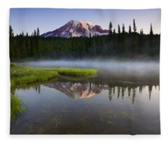 Majestic Dawn Fleece Blanket