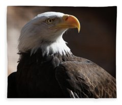 Majestic Eagle Fleece Blanket