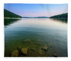 Majestic Lake Fleece Blanket