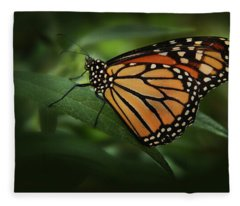 Majestic Monarch Fleece Blanket