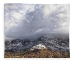 Major Storms A Brewing Fleece Blanket