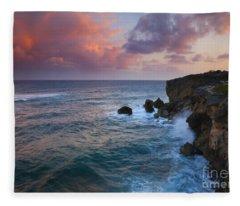 Makewehi Sunset Fleece Blanket