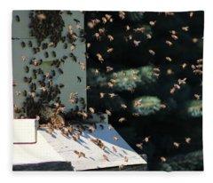 Making Honey - Landscape Fleece Blanket