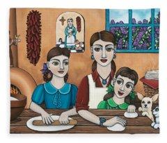 Mamacitas Tortillas Fleece Blanket