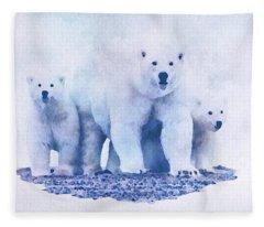 Mamma Bear  Fleece Blanket