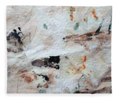 Man Chased By Mountain Lion Fleece Blanket