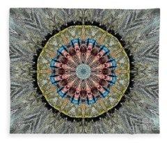Mandala 1 Fleece Blanket
