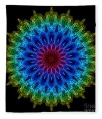 Mandala Fleece Blanket