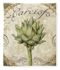 Mangia Carciofo Artichoke Fleece Blanket