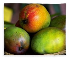 Mangos Fleece Blanket