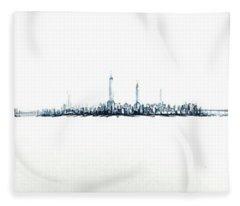 Manhattan 2018 Fleece Blanket