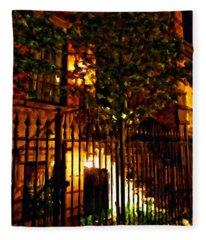 Manhattan East 12th St Fleece Blanket
