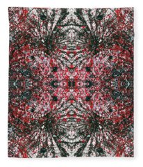 Manifestation Of The Invisible Force Field #1312 Fleece Blanket
