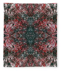 Manifestation Of The Invisible Force Field #1314 Fleece Blanket