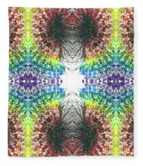 Manifestations Of The Vibrational Energy #1436 Fleece Blanket