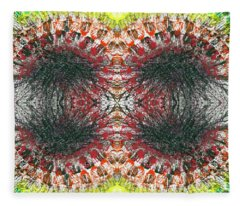 Manifestations Of The Vibrational Energy #1438 Fleece Blanket