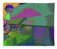 Mantis In Your Shade Of Play  Fleece Blanket