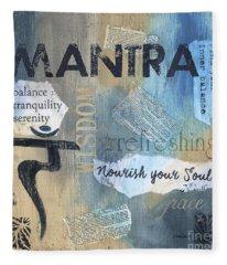Mantra Fleece Blanket