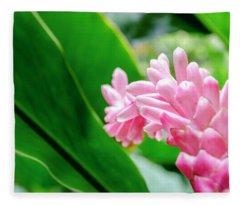 Many Pink Petals Fleece Blanket